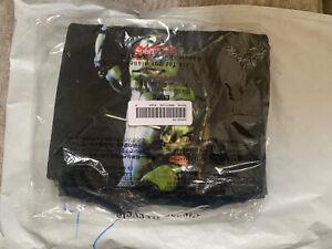 Supreme Ninja Turtle Raphael Tee T Shirt Black Size Medium SS21