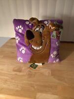 Cartoon Network Scooby Doo Pillow 3D Dog Glows in Dark Vintage 2001 13x13