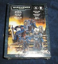 40k Rare oop Vintage Metal Space Marine Masters of the Chapter Box Set NIB