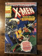 The Uncanny X-Men Annual #17 SEALED POLY BAGGED WITH TRADING CARD X-CUTIONER