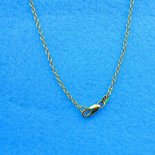 "Wholesale 1X 30"" 18K Jewelry Yellow GOLD Filled Rolo CHAINS NECKLACE For Pendant"