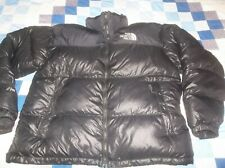 The North Face Nuptse 700 Goose Down Jacket Coat Classic Puffer TNF Black XXL