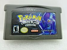 Nintendo GBA Pokemon Chaos Black Version Game Cartridge Only AGB- BTXE- USA