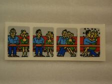 Williams Hurricane Pinball Machine Ferris Wheel People Riding Decals 4!