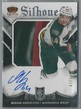2013-14 PANINI CROWN ROYALE SILHOUETTE MIKAEL GRANLUND RC AUTO PATCH 67/99!!
