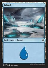 FOIL Isola 256 - Island 256 MTG MAGIC KTK Khans of Tarkir Eng/Ita