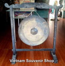 Handmade Vietnamese Brass Gong 21'' - for desk decorations - big gong