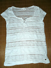 H&M Kurzarm Damenblusen, - tops & -shirts mit Rundhals-Ausschnitt