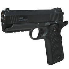 BGS G25 Vollmetall Airsoft Pistole Softairpistole 6 mm <0,5 Joule schwarz