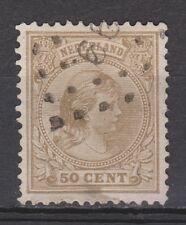 NVPH Netherlands Nederland 43 a zandkleur CANCEL SNEEK 99 VERY SPECIAL 1891