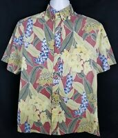 Kahala 1936 Hawaiian Shirt Mens S Short Sleeve Button Front Floral Reverse Print
