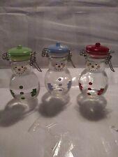 Snowman Mini Mason Jars