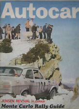 Autocar magazine 15 January 1970 featuring Lotus 61, Ford Escort road test