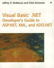 NEW Visual Basic .NET Developer's Guide to ASP .NET, XML and ADO.NET