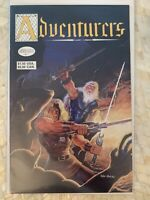 the ADVENTURERS #1 1st print Adventure Publications Peter Hsu D&D COMICS 1986