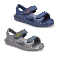 Crocs Swiftwater Expedition Sandals Kids Boys Summer Beach Holiday Strap Shoes