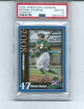 2008 JAMESTOWN JAMMERS RC MIKE STANTON  PSA 10 GEM MINT TEAM SET