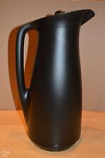 Tupperware Thermoskanne ThermoTup 1l mit dichtem Deckel schwarz wie neu!