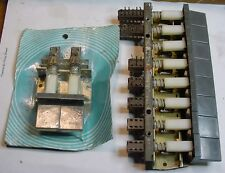 2 NOS Vintage 2 Push buttons Switches & Preh Germany 8 push button array Sw