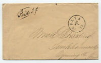 1860s Rolla Missouri stampless cover late use [5246.291]