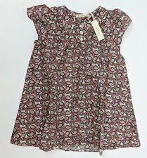 Soor Ploom Girl's Short Sleeve Mini Dress Multi-Color Pattern 2/3Y