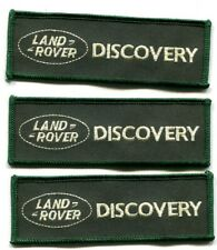 3 x Land-Rover Discovery-Aufnäher