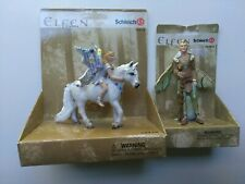 Oleana and Tulon Elfen by Schleich 70410, 70408 Brand New in Packages!