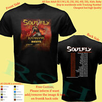 SOULFLY TOUR 2019 Album Concert Shirt Adult S-5XL Kids Infants