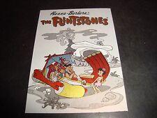 1993 Flinstones #T1 Chase INSERT Card Tek-Chrome Fred Flinstone Barney Rubble