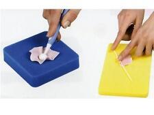 set 2 spugne per modellaggio fiori  attrezzatura dolci  pasta di zucchero