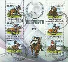 Timbres Chevaux Mozambique 3088/93 o année 2010 lot 16689 - cote : 18 €