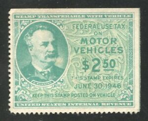Motor Vehicle Use Tax Revenue Stamp Scott RV48