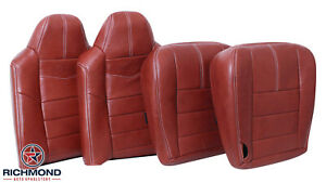 08-10 Ford F250 F350 King Ranch -Driver & Passenger Complete Leather Seat Covers