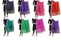 Women's Silk Banarasi Dupatta Ethnic Dupatta 2.25 meter - Free Shipping