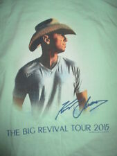 """2015 Kenny Chesney """"The Big Revival"""" Concert Tour (Med) T-Shirt"""