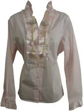 Plus Size Long Sleeve Semi Fitted Business Women's Tops & Shirts