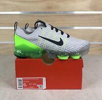 Nike Youth Air Vapormax Flyknit 3 Grey Running Shoes Kids 6Y / Women's Sz 7.5