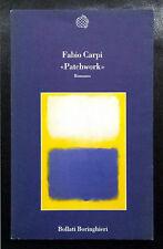 Fabio Carpi, «Patchwork», Ed. Boringhieri, 1998