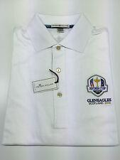 Peter Millar Ryder Cup 2014 - Gleneagles Scotland - White Tour Polo Shirt - S