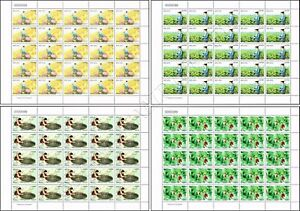 Mulberry cultivation and Silk -SHEET BO(I)- (MNH)