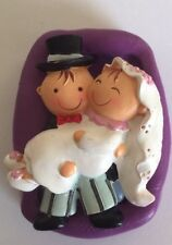 Bride And Groom Wedding Silicone Mould.topper.cupcake.chocolate.baking.