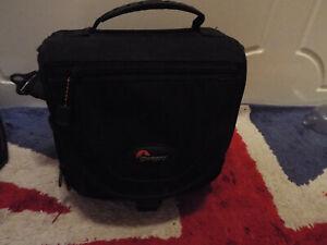 LowePro Nova 2 AW Black Nylon Medium Shoulder Bag Camcorder DSLR Camera Case