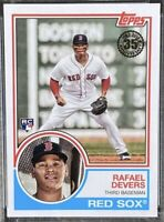 RAFAEL DEVERS 2018 Topps Update 1983 35th Anniversary Rookie #83-47 Red Sox RC