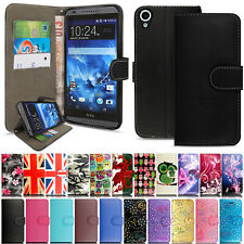 Premium Flip Wallet Leather Stand Magnetic Clip Case Cover for HTC Mobile Phones