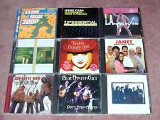 Nine Rock/Pop type CDs - The Guess Who, Cyndi Lauper, Blue Oyster Cult, Hootie +