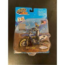 Road Champs MXS Jeff Emig #3 Motorcross Poseable Figure w/Bike Yamaha YZ250