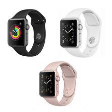 Reloj de Apple serie 3 38mm GPS-Gris Espacio Oro Plata