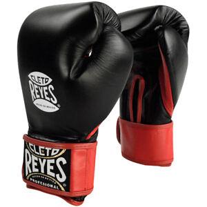Cleto Reyes Extra Padding Leather Boxing Training Gloves - Black