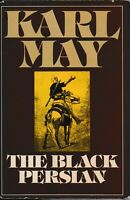 OLD FICTION , hc/dj , THE BLACK PERSIAN by KARL MAY