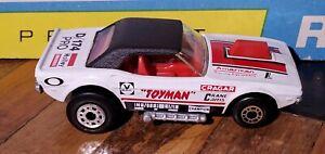 """RARE WHITE Matchbox Superfast No. 1 Dodge Challenger White Body """"Toyman"""" VINTAGE"""